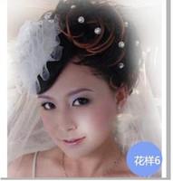 Wholesale Luxury Rhineston Crystal Pearl Flower Hair Pin Wedding Prom Pageant Bridal Wedding hair accessories
