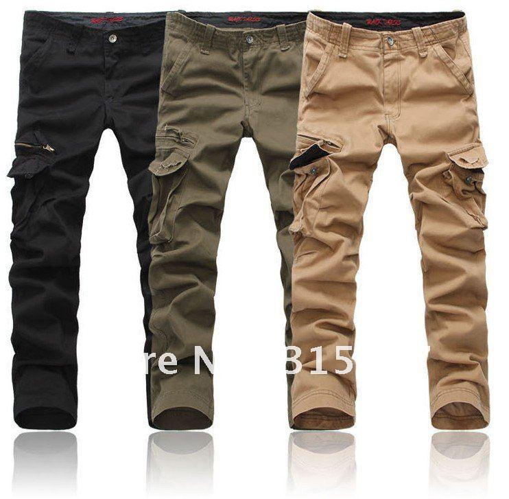navy blue cargo pants men - Pi Pants