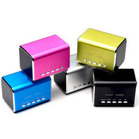 Wholesale Music Angel MD05 Portable Mini Speaker MP3 Player Micro SD TF USB SLOT FM for iphone ipad tablet pc