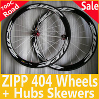 Wholesale ZIPP Carbon Wheelset mm Clincher Tubular Road Bicycle C Light Weight High Performance Wheel
