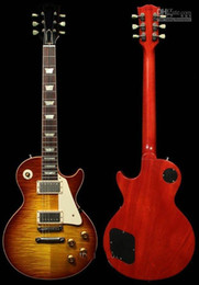 Wholesale Custom Shop VOS Iced Tea Electric Guitar guitar one piece neck