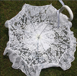 Wholesale white bride umbrella Wedding umbrella lace umbrella Princess umbrella
