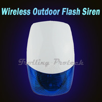 Wholesale Wireless Outdoor Waterproof Siren with Strobe Light for Home GSM Alarm System