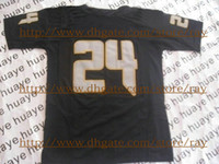 Wholesale College American Football Jerseys black Authentic Sportswear Rugby Jersey Hot Sell