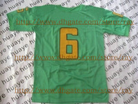 Wholesale College American Football Jerseys Green New Season Authentic Sportswear Rugby Jersey