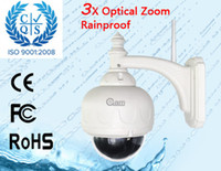 zoom ip camera - EMS Free Ship Waterproof X Optical Zoom Outdoor IR Nightvision Wifi IP Camera S575