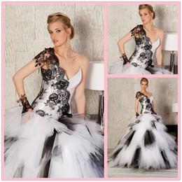 White Lace Dress on White Black Lace Wedding Dress Online From Low Cost White Black Lace