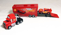 Wholesale NEW PIXAR Cars Toys CARS quot MACK quot TRUCK AND McQUEEN