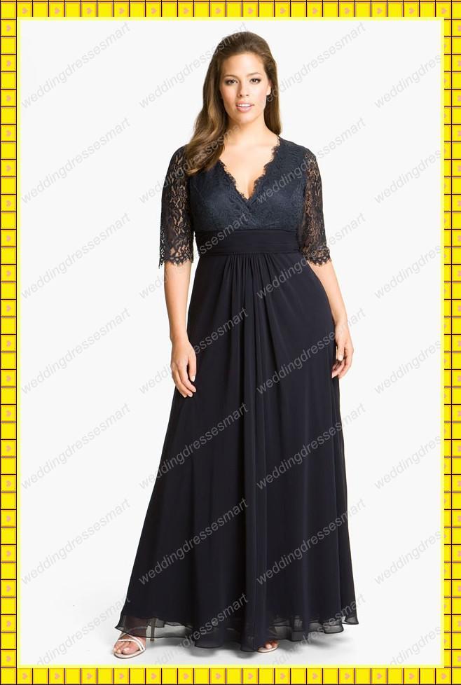 Длинные вечерние платья на полных