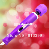 Wholesale 2 speed Hitachi Wand Magic Massager vibrator sex toys for woman Sex Toys