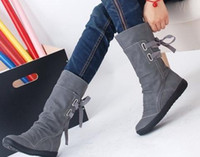 Wholesale Abrazine thicken sole habenal for back ladies short boots cavalier boots