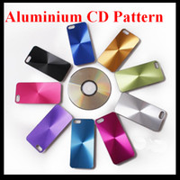Wholesale CD Pattern Metal Aluminium Alloy Skin Hard Plastic Case Back Cover for Apple Iphone G Xmas Gift