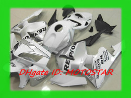 Silver white REPSOL Injection fairing kit for Honda 2005 2006 CBR600RR F5 CBR 600RR 05 06 CBR600