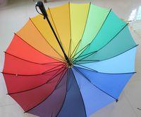 Other auto golf umbrella - rainbow straight rain umbrellas rainbow golf umbrella auto open
