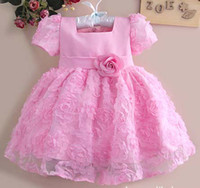 baby pageant wear - Girls Party Dresses Infant Clothing Pageant Dresses Baby Wear Princess Dresses Flower Girl Dresses