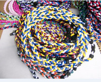 Wholesale free DHL ropes tornado braided titanium ropes necklace Germanium amp Titanium quot