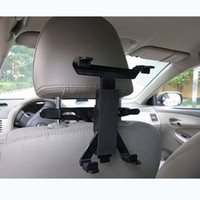 Wholesale Multi Direction Car Mount Headrest Holder for quot iPad Tablet PC GPS Free Drop Shipping C1469