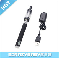 Wholesale Stainless Steel EGO CE4 Electronic Cigarette w LCD Screen mAh Battery DCP ml E liquid Atomize
