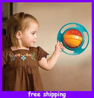 Wholesale Gyro Bowl Kids Proof Spill food Resistant Childrens New Video Inside