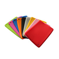 Wholesale For Ipad mini case silicon case for ipad mini various color paypal available DHL free ship