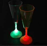 Wine Glass wine glass box - NEW IN BOX LIGHT UP LED FLASHING Champagne WINE Champagne GLASS