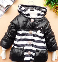 Wholesale 2012 New Winter cotton Girls Children s coat Minnie design the dim thick coat
