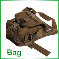 Wholesale Wonderful Multi Layered Nylon Leg and Waist Pouch Carrier Bag for Outdoor Activity Earthy amp Black