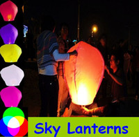 Wholesale Flying lantern Chinese lantern paper lantern flying lanterns wish lanterns Party Lanterns