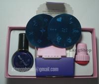 Wholesale DIY Nail Art Stamping Kit nail art diy kit nai set nail oil printer stamper