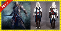 assassin's creed costume kids - High Quality Kids Assassin s Creed III Ezio Edition Costumes Cool White Custom Cosplay