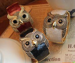 Hot Selling Retro Classic New Women's Fashionable Personality Owl Bracelet Jewelry Bangles Bangle Multiple Sale 5