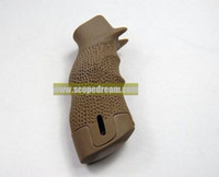 Wholesale Matrix Target Sniper Motor Grip for M4 M16 Airsoft AEG Tan