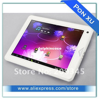 Wholesale 9 inch Newsmy A6 Android IPS Capacitive Screen RK2918 Cortex A8 GHz G WIFI HDMI Tablet PC