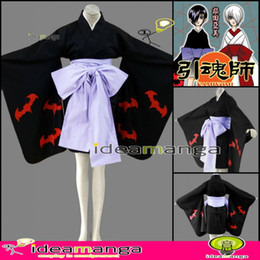 Wholesale ideamanga KAMIYOMI Mikaduki Kimono girl woman s Cosplay Costume cos female halloween party dress An