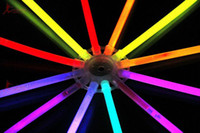 Wholesale Multi Color Glow Fluorescence Sticks Flashing Bracelets Neon Bright Lights for Party