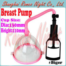 Wholesale Manual Breast Pumps Biger Chest Enlargement With Cup Chest Pump Adult Sex Toys for Women Sex Pro
