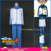 Wholesale Cosplay Inazuma Eleven GO BOY s middle school The Japanese team football clothes Cosplay Costume Mal