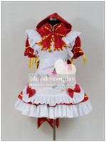 Wholesale Hatsune VOCALOID Miku PROJECT Cosplay Costume custom any size Halloween
