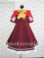 Wholesale Ookami san to Shichinin no Nakamatachi akai ringo Cosplay Costume Custom Any Size Halloween