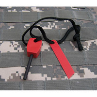 Wholesale Outdoor Survival Magnesium Flint Stone Fire Starter Lighter Kit