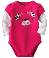 jumping beans baby clothing - Jumping Beans Baby Rompers Rose Bear Infant Long Sleeve One Piece Bodysuits Baby Clothing