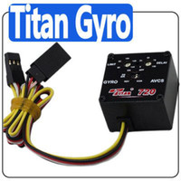 Wholesale Titan head lock Gyro For TRex RC helicopter F411