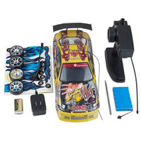 Wholesale NEW arrival yellow RC CAR DRIFT Remote WD ELECTRIC