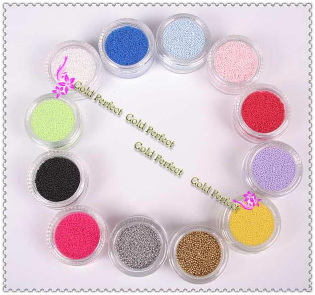Wholesale Caviar Beads - Buy Nail Art Caviar Beads Decorating Kits