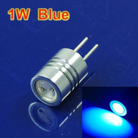 Wholesale New Bright G4 Base W LED Car Boat Landscape Light Bulb Lamp DC V Blue
