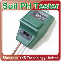 Wholesale 3 in1 Plant Flowers Soil Moisture Light PH Meter Tester Y628