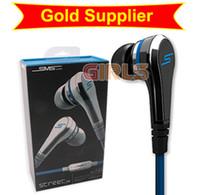 Promoción SMS Calle sincronización de audio 50 auriculares del centavo auriculares Auriculares niñas a través de EMS 433