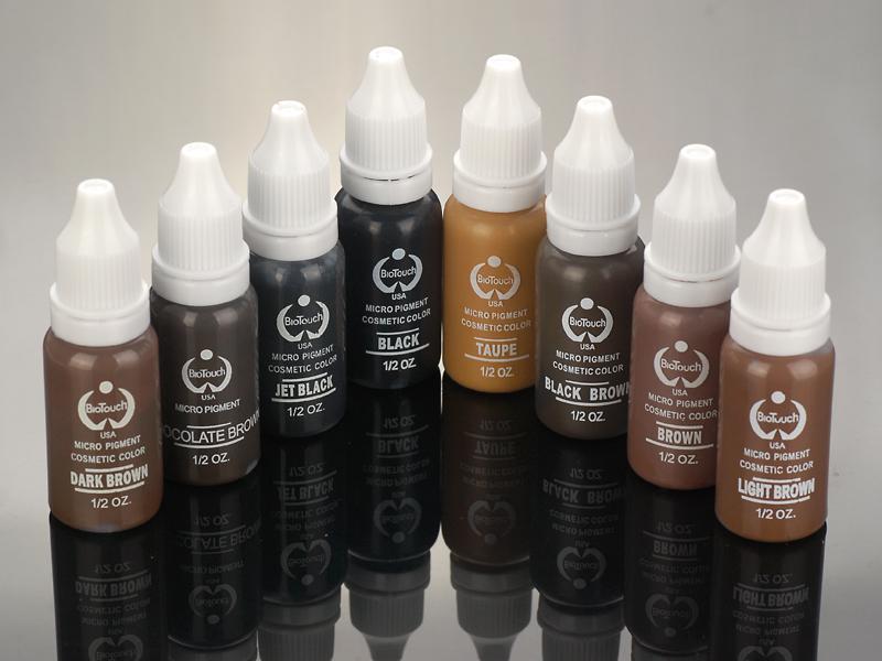 acheter micro pigment de couleur brun chocolat flacon de 15 ml de maquillage permanent sourcils. Black Bedroom Furniture Sets. Home Design Ideas
