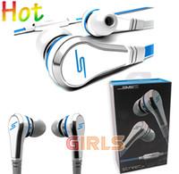 La promoción caliente SMS Calle sincronización de audio auriculares 50 céntimos Auriculares In-Ear auriculares por EMS 393 niñas