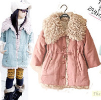 Wholesale Kids Coats Down Jacket feather children cotton coat girls Quilted jacket Y children clothes